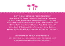 custom enclosure cards - bright pink - tiny charms (set of 10)