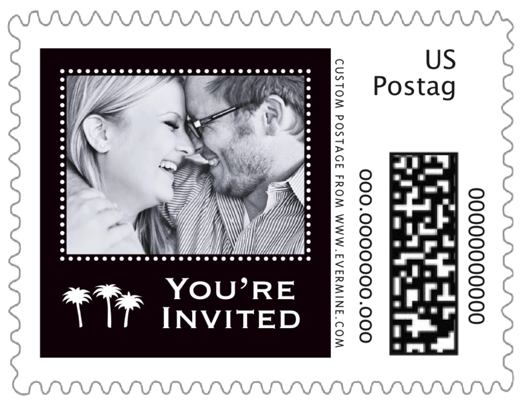 small custom postage stamps - tuxedo - tiny charms (set of 20)