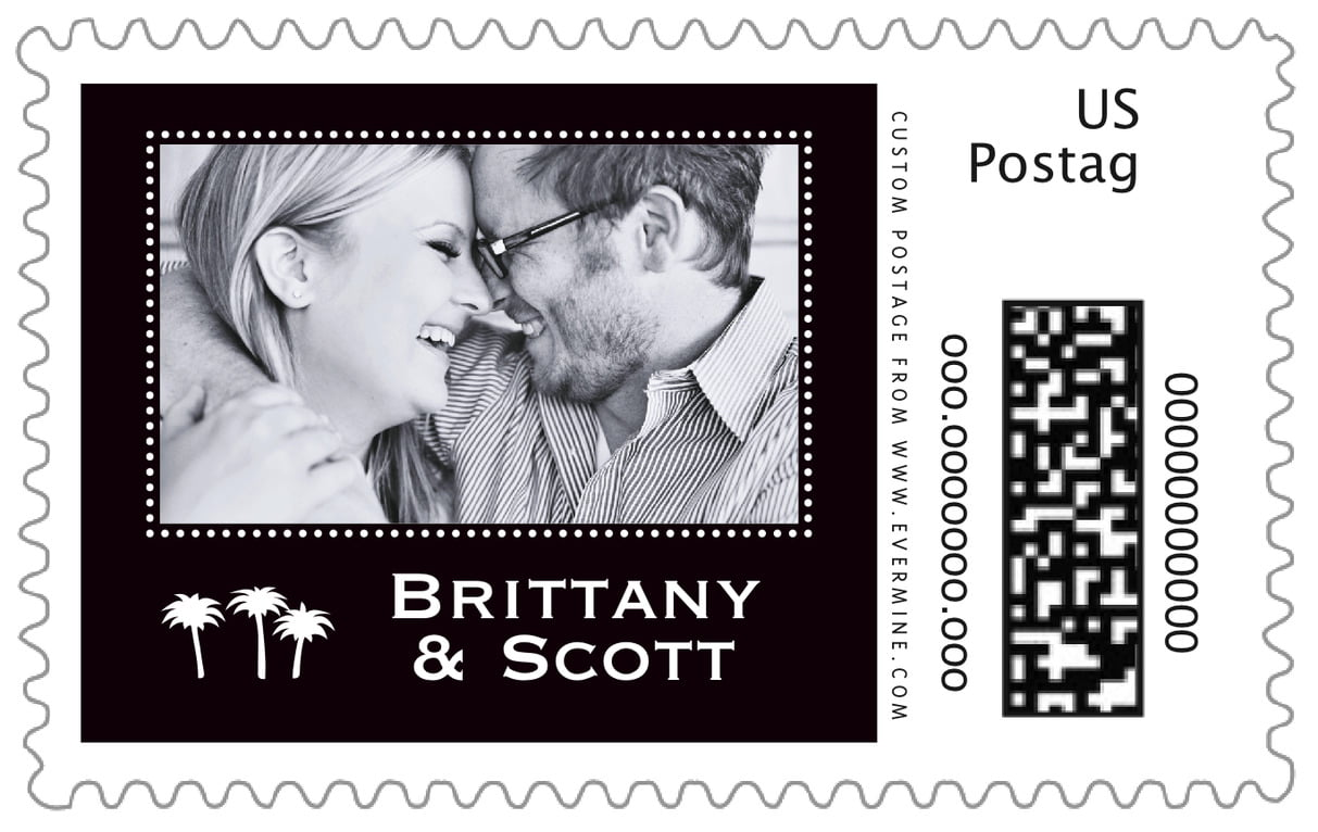 custom large postage stamps - tuxedo - tiny charms (set of 20)