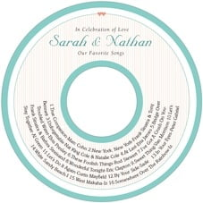 Tiny Hearts cd labels