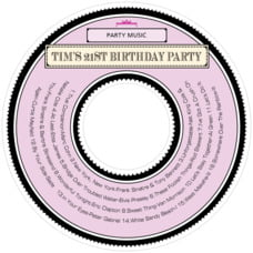Treasury Cd Label In Berry