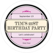 Treasury milestone birthday coasters