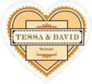 Treasury heart labels