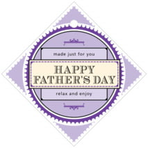 Treasury father's day gift tags