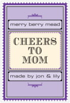 Treasury mother's day labels