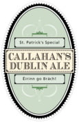 Treasury st. patrick's day beer labels