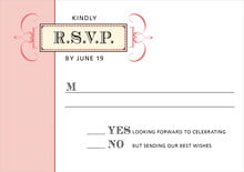 custom response cards - red - treasury (set of 10)