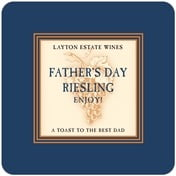 Tuscany father's day coasters