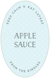 Twinkle Twinkle tall oval labels