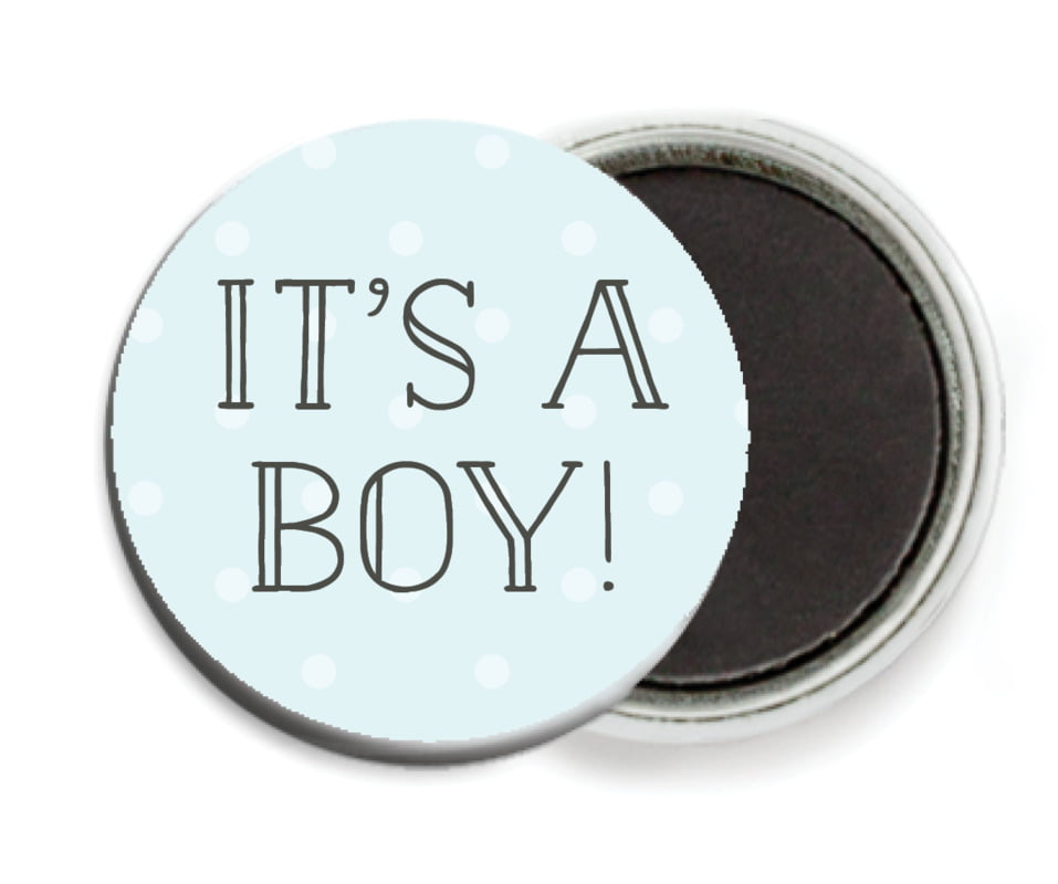 custom button magnets - bahama blue - twinkle twinkle (set of 6)