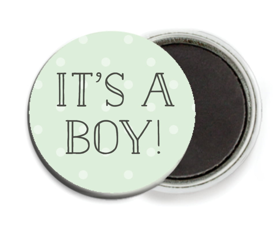 custom button magnets - mint - twinkle twinkle (set of 6)