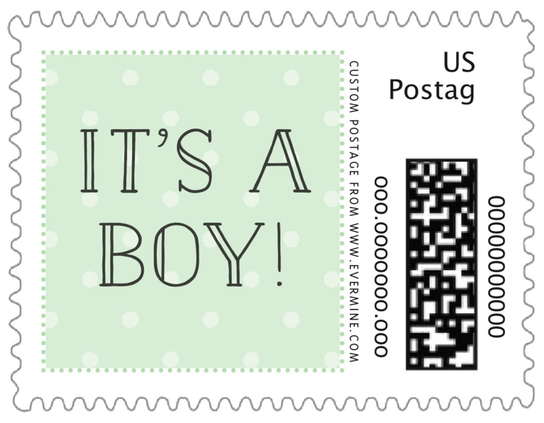 small custom postage stamps - mint - twinkle twinkle (set of 20)