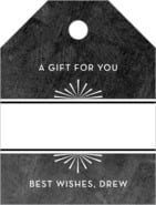 Tuxedo Formal small luggage gift tags