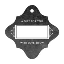 Tuxedo Formal fancy diamond gift tags