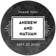 Tuxedo Formal wedding labels