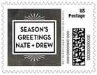 Tuxedo Formal christmas postage stamps