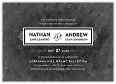 Tuxedo Formal invitations