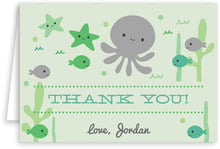 Under the Sea folding cards