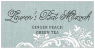 Burlap & Lace rectangle labels