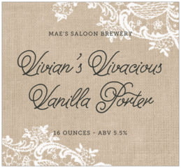 Burlap & Lace large rectangle labels