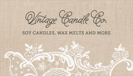 Burlap & Lace business cards