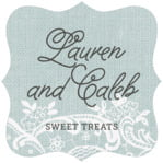 Burlap & Lace fancy square labels