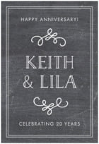Vintage Chalkboard tall rectangle labels
