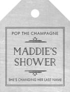 Vintage Chalkboard small luggage tags