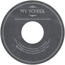 Vintage Chalkboard Cd Label In Chalkboard Tuxedo