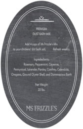 Vintage Chalkboard oval text labels