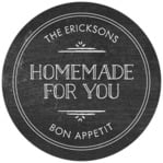 Vintage Chalkboard canning labels