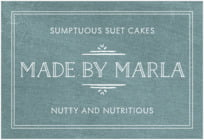 Vintage Chalkboard wide rectangle labels