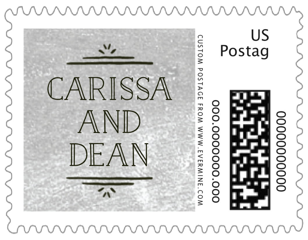 small custom postage stamps - chalkboard stone - vintage chalkboard (set of 20)