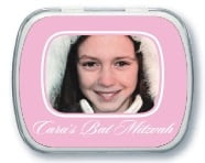 Vida bar mitzvah mint tins