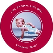 Vida father's day coasters