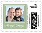 Vida Small Postage Stamp In Sage