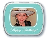 Vida kid/teen birthday mint tins