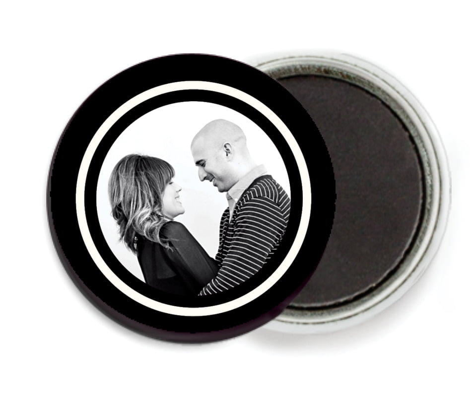 custom button magnets - tuxedo - vida (set of 6)