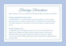 custom enclosure cards - periwinkle - vida (set of 10)