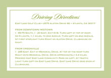 custom enclosure cards - green tea - vida (set of 10)