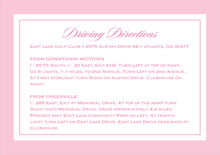 custom enclosure cards - pale pink - vida (set of 10)