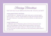 custom enclosure cards - lilac - vida (set of 10)