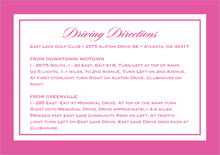 custom enclosure cards - bright pink - vida (set of 10)