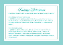 custom enclosure cards - aruba - vida (set of 10)