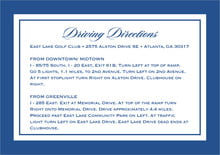 custom enclosure cards - deep blue - vida (set of 10)