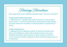 custom enclosure cards - sky - vida (set of 10)