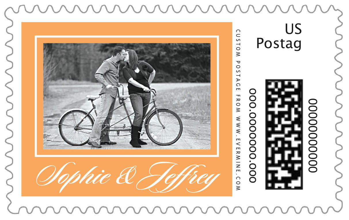 custom large postage stamps - melon - vida (set of 20)