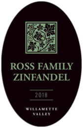 Vignette tall oval labels