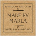 Vintage Kraft square labels