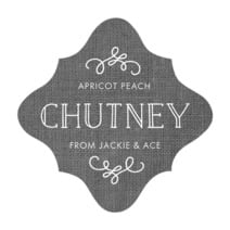 Vintage Burlap fancy diamond labels